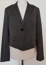 SABA Black with White Fleck Jacket Size 12