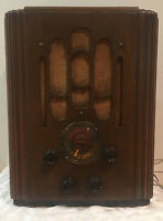 1920/'s Atwater Kent Breadboard Radio Entertains America US Stamp MINT CONDITION!