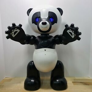 """19"""" Robo Panda Battery-Operated Talking Interactive Toy by Wow Wee 2007 WORKS!"""