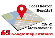 Optimize your Google Places Listing with 65 Maps PLUS Citation,Google Rank,SEO !