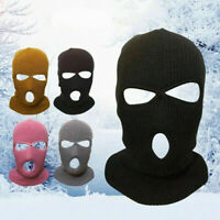 Unisex Knitted Face Mask Ski Mask Winter Warm Cap/Balaclava Hat Outdoor Supplies