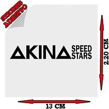 Sticker Adesivo Decal INITIAL D Akina Speed stars logo Auto Moto Tuning