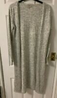 Modern Rarity Long Cardigan, Grey, Size 10, RRP £69