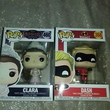 Clara From The Nutcracker And Dash From Incredibles 2 Funko Pop BNIB