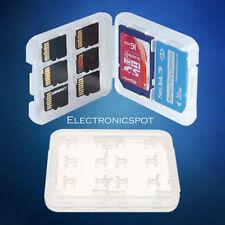 8 Slots Micro SD TF SDHC MSPD SD Memory Card Protecter Box Holder Storage Case