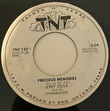 Obscure country Jerry Dove Precious Memories Tnt