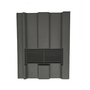Roof Tile Vent To Fit Redland Renown | Grey Granular | 8 Colours Available