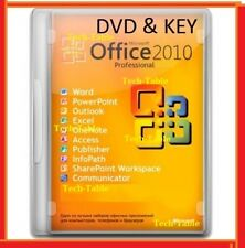 FULL Office 2010 Professional 32 + 64 Bit DVD Licence WORD EXCEL Edition Pro