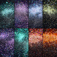 Peacock Holographic Nail Powder Dust Chameleon Mirror Glitters  Tips DIY