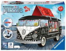 162 Teile Ravensburger 3D Puzzle VW Volkswagen Bus T1 Food Truck 12525