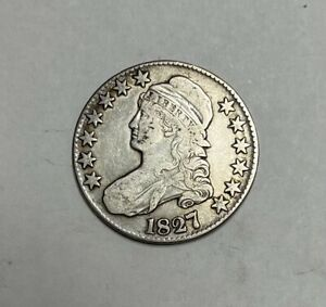 1827 Capped Bust Half Dollar Very Fine