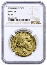 2017 $50 1 oz. American Gold Buffalo NGC MS69 SKU44856