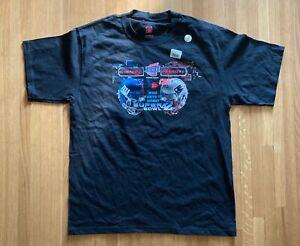 New Super Bowl XLII New England Patriots vs. New York Giants Shirt - Men's Large