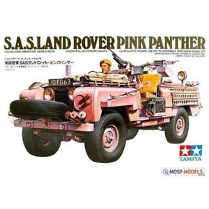 TAMIYA 1/35 SAS Land Rover Pink Panther