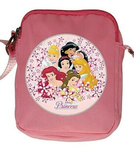 DISNEY PRINCESS Crossbody Side Bag in Pink or Browse More Comic Character #1