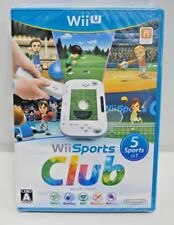 Nintendo Wii U -- Wii Sports Club -- sealed new. very popular *JAPAN GAME* 62702