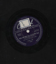 LES PAUL and MARY FORD disco 78 giri VAYA CON DIOS + JOHNNY