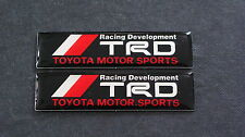 TRD Badge Racing Development JDM MOTOR T SPORT TURBO