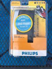 Philips DVD Converter S-Video & RCA Inputs (Model PH-161159) NEW