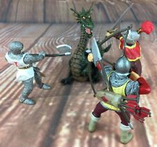 PAPO Knights Archer Man Dragon Bundle of Figures From 1999 2002 2003 2008