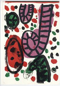 Alan Davie original lithograph, 1964
