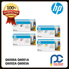 Genuine 124A HP Q6000A Q6001A Q6002A Q6003A Full Toner Set CMYK 1600 2600 CM1015