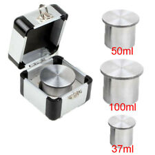 Lab Stainless Steel Qbb 37ml50ml100ml Paint Density Cups Specific Gravity Cups