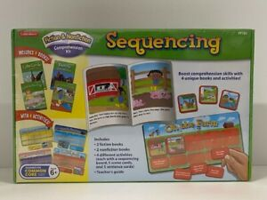 Lakeshore Sequencing Fiction & Nonfiction Comprehension Kit FF793 - Sealed