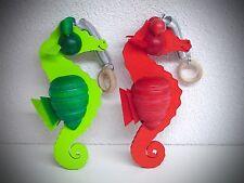 bois Figurine décorative cheval de mer à suspendre 16 cm avec figure rêves 70121
