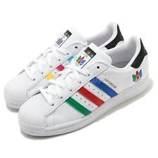 Adidas Originals Superstar красочные трилистника белый Мульти мужчин женский унисекс FU9521