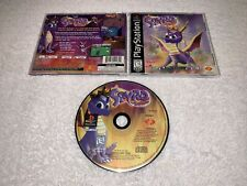 Spyro the Dragon (PlayStation 1, 1998) PS1 Black Label Complete LN Perfect Mint!