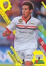 FCL-11 RAPHAEL GUERREIRO RISING STAR FC.LORIENT CARD ADRENALYN FOOT 2015 PANINI