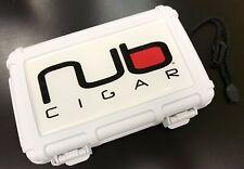 Nub Cigars Logo Heavy Duty Travel Case, Holds 5-8 Cigars