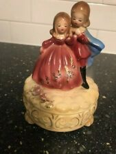 Vintage Josef Originals Figurine Girl Boy Princess Prince - hand painted