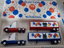 Winross 1992 Election Democrat & Republican election Truck