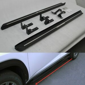 fits for LEXUS RX RX350L RX450HL 2016-2021 Running board side step Nerf bar 2PCS