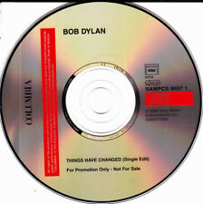 BOB DYLAN - THINGS HAVE CHANGED SINGLE EDIT CD SINGLE 1 TRACK NO COVER PROMO 200
