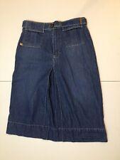 ladies womens modest Jean skirt size 4 petite by Liz claiborne denim a line