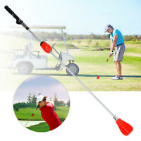 Sport Golf Swing Trainer Aid Training Warm-Up Stick Equipment Adjustable Force