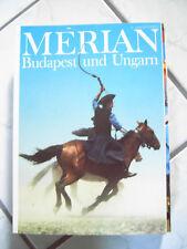 Merian Budapest und Ungarn 6/45 Jg 1992