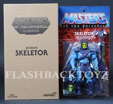 2017 Super 7 MOTU Ultimate SKELETOR Masters of the Universe Classics Ultimates