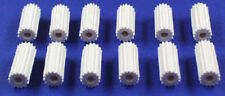 Eagle Toys Coleco Table Top Hockey Game White Rod Knobs (12)