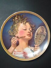 Vintage Bradford Exchange Knowles Making Believe at the Mirror Collectors Plate