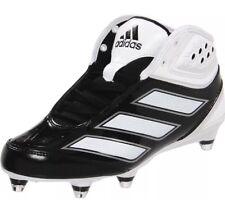 premium selection d4e39 140d0 ADIDAS NWOB MALICE 2 D FOOTBALL CLEATS BLK WHT Size 13 G48165 NEW MEN S It