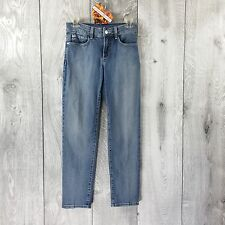 NYDJ Not Your Daughters Jeans Size 0 Straight Leg Inseam 27.5