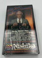 New Nishika N8000 3D (VHS) Vincent Price: Step into the Third Dimension