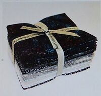 Hoffman Bali Batik Dots-Zinc Fat Quarter Bundle of 20 Cotton Fabric