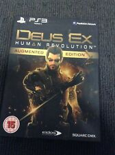 Deus Ex Human Revolution Augmented Edition (Sony Playstation 3 PS3)