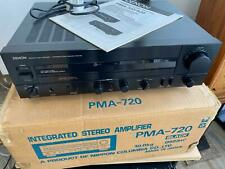 Denon PMA-720 Integrated Amplifier, boxed with manual [WEST LONDON]