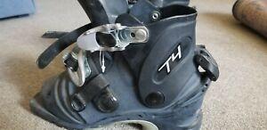 Scarpa T4 Ski Boot Shells.  25.5. NO LINERS.  Black.